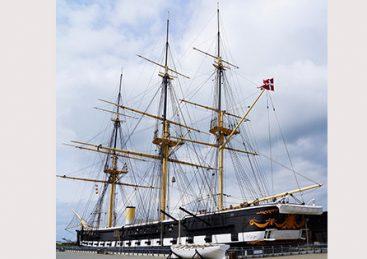 Krigen på havet – omkring Fregatten Jylland i 1864