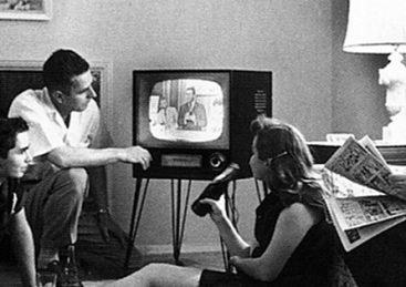 Da onkel Jens fik fjernsyn – en mands minde fortælling