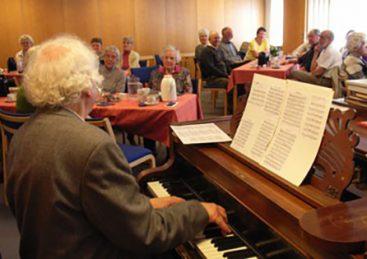 Populær huskoncert – ældre og nyere iørefaldende klavertoner