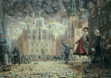 Kunstmaleren Otto Frello